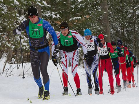 Trekking along in the North American VASA Festival of Races