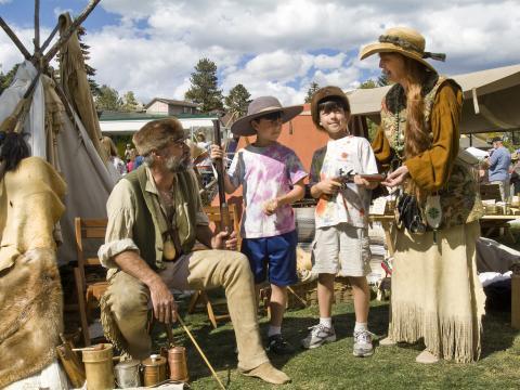 Sharing Estes Park heritage and an appreciation for elks at the Elk Fest