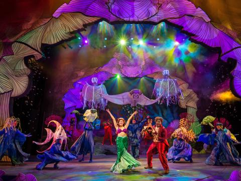 """Disney's """"The Little Mermaid"""" on a Chicago-area stage"""